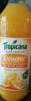 Pure Premium Douceur Orange sans Pulpe - Product - fr
