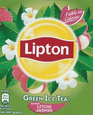 Green Ice Tea saveur Litchi Jasmin - Product