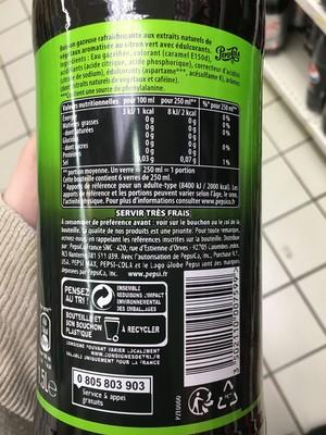Pepsi Max Lime - Boisson gazeuse rafraîchissante - 3