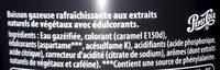 Pepsi max - Un maximum de goût zéro sucre - Ingredienti - fr