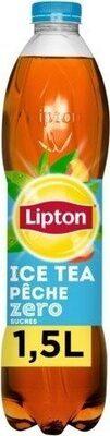 Lipton Ice Tea saveur pêche zéro sucres 1,5 L - Product - fr
