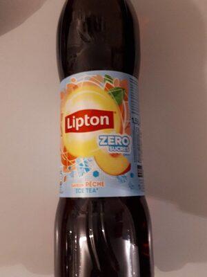 Lipton Ice Tea saveur pêche zéro sucres format familial 2 x 1,5 L - Prodotto - fr