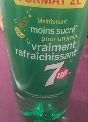 Soda citron & citron vert 7UP - Produit