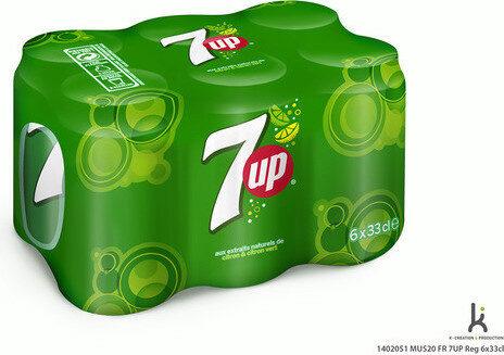 7UP aux Extraits de citron & citron vert 6 x 33 cl - Produit - fr