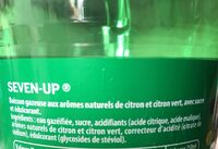 7 up (seven up) - Ingrédients - fr