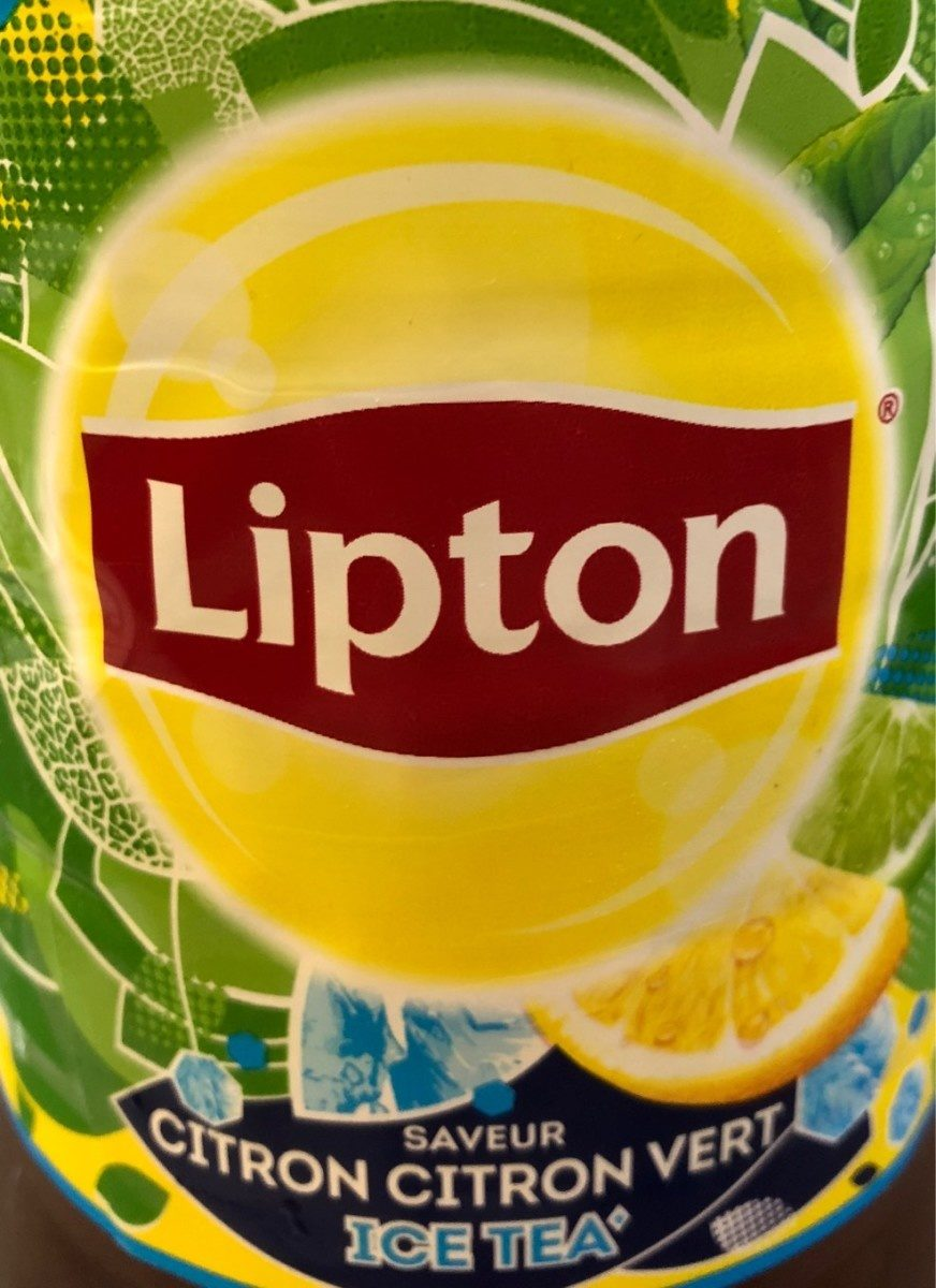 Lipton Ice Tea saveur citron citron vert format familial 2 L - Prodotto - fr
