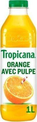 Tropicana Pure premium orange avec pulpe 1 L - Produit - fr