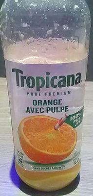Jus d'orange avec pulpe - Product