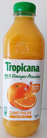 Pur jus d'orange sans pulpe - Produit - fr