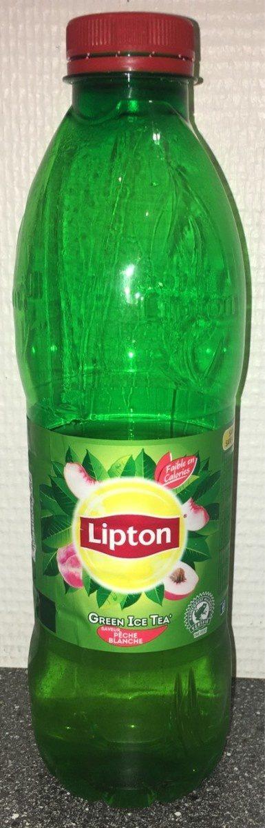 Lipton green peche blanche - Produit - fr