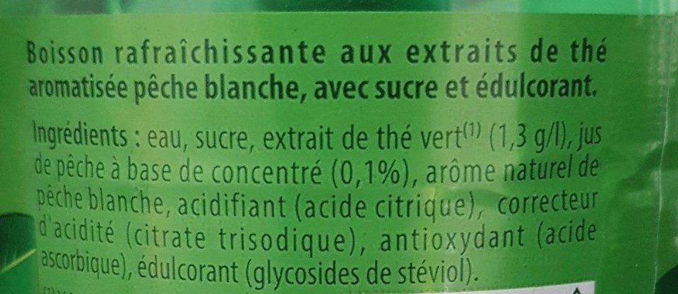Lipton green peche blanche - Ingrédients - fr