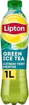 Lipton Green Ice Tea saveur citron vert menthe 1 L - Prodotto - fr