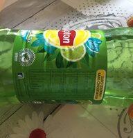 Lipton Green Ice Tea saveur citron vert menthe 1 L - Valori nutrizionali - fr