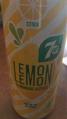 7UP Lemon Lemon Citronnade gazeuse citron 33 cl - Produit - fr