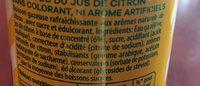 7UP Lemon Lemon Citronnade gazeuse citron 33 cl - Ingrédients - fr