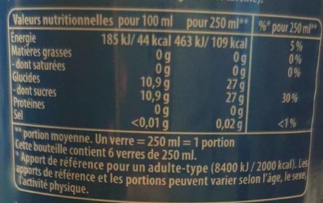 Pepsi 6 x 1,5 L 5+1 offert - Informations nutritionnelles - fr