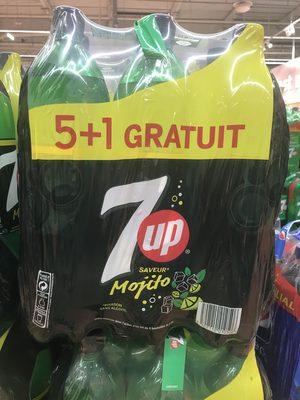 7UP saveur mojito 6 x 1,5 L 5 + 1 offert - Prodotto - fr