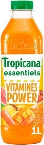 Jus Essentiels Vitamines power orange, pomme, ananas, mangue - Prodotto - fr