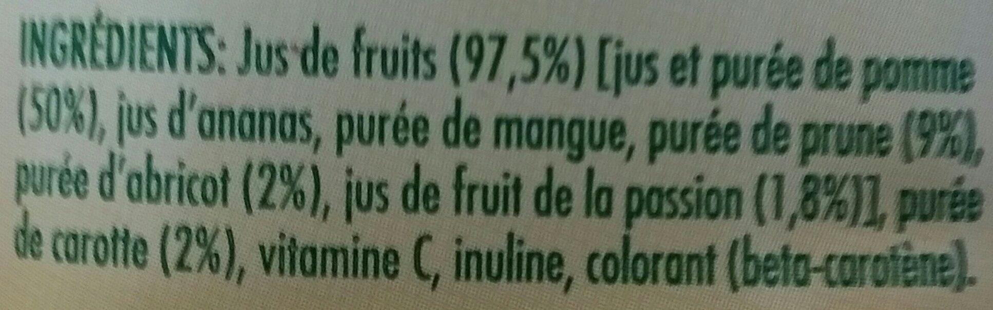 Tropicana essentiels FIBRE PLUS - Ingredients