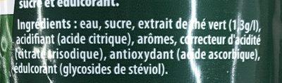 Ice  tea mojito - Ingrédients