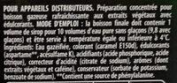 Pepsi Max - Ingrédients - fr