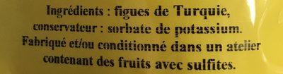 Figue Moelleuse - Ingrédients - fr