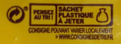 Noisettes coques - Instruction de recyclage et/ou informations d'emballage - fr