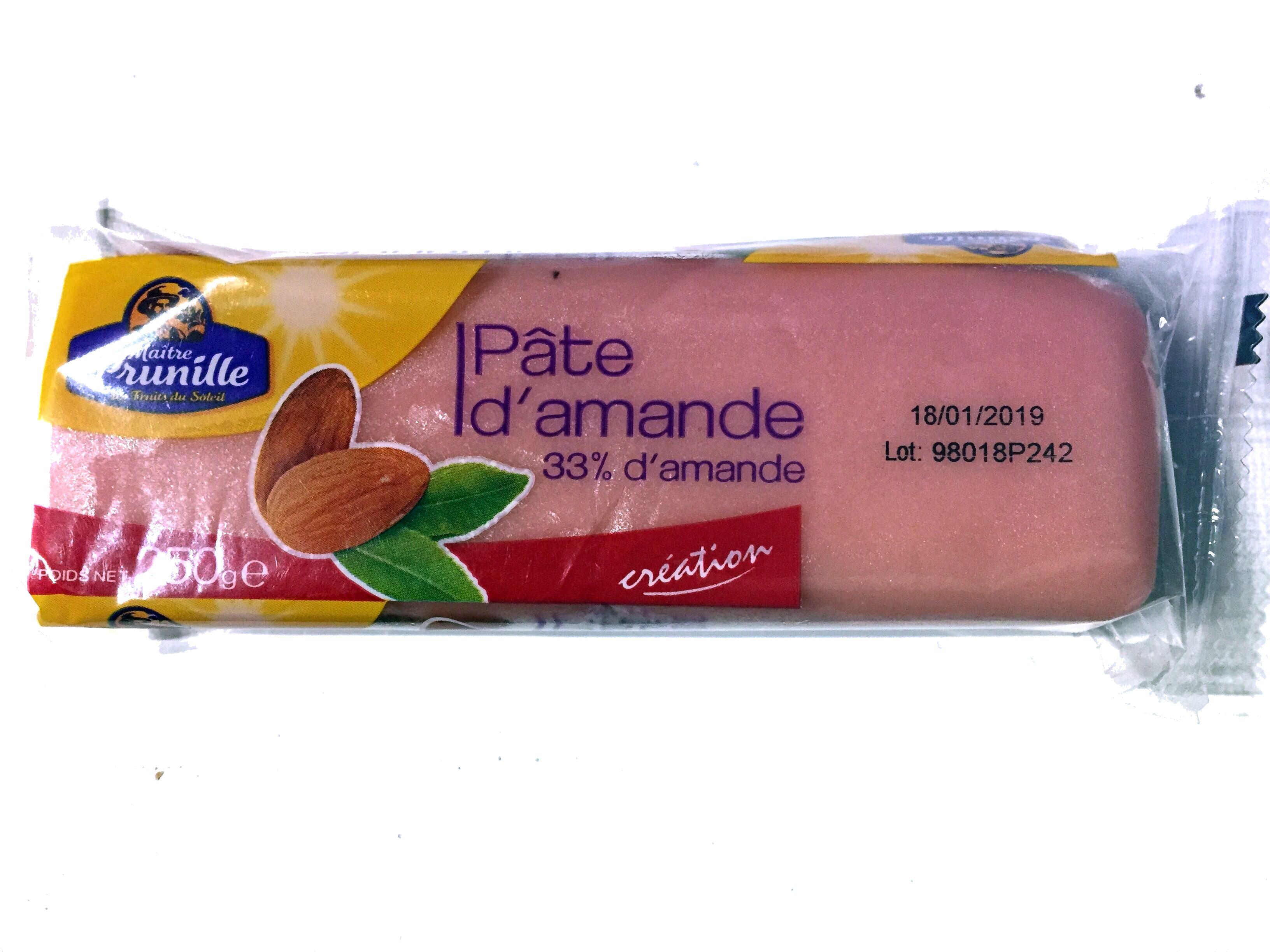 Pâte d'amande rose - Produit - fr