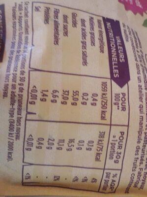 Pruneaux sans conservateur - Informations nutritionnelles - fr