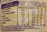 Pruneaux moelleux - Informations nutritionnelles - fr