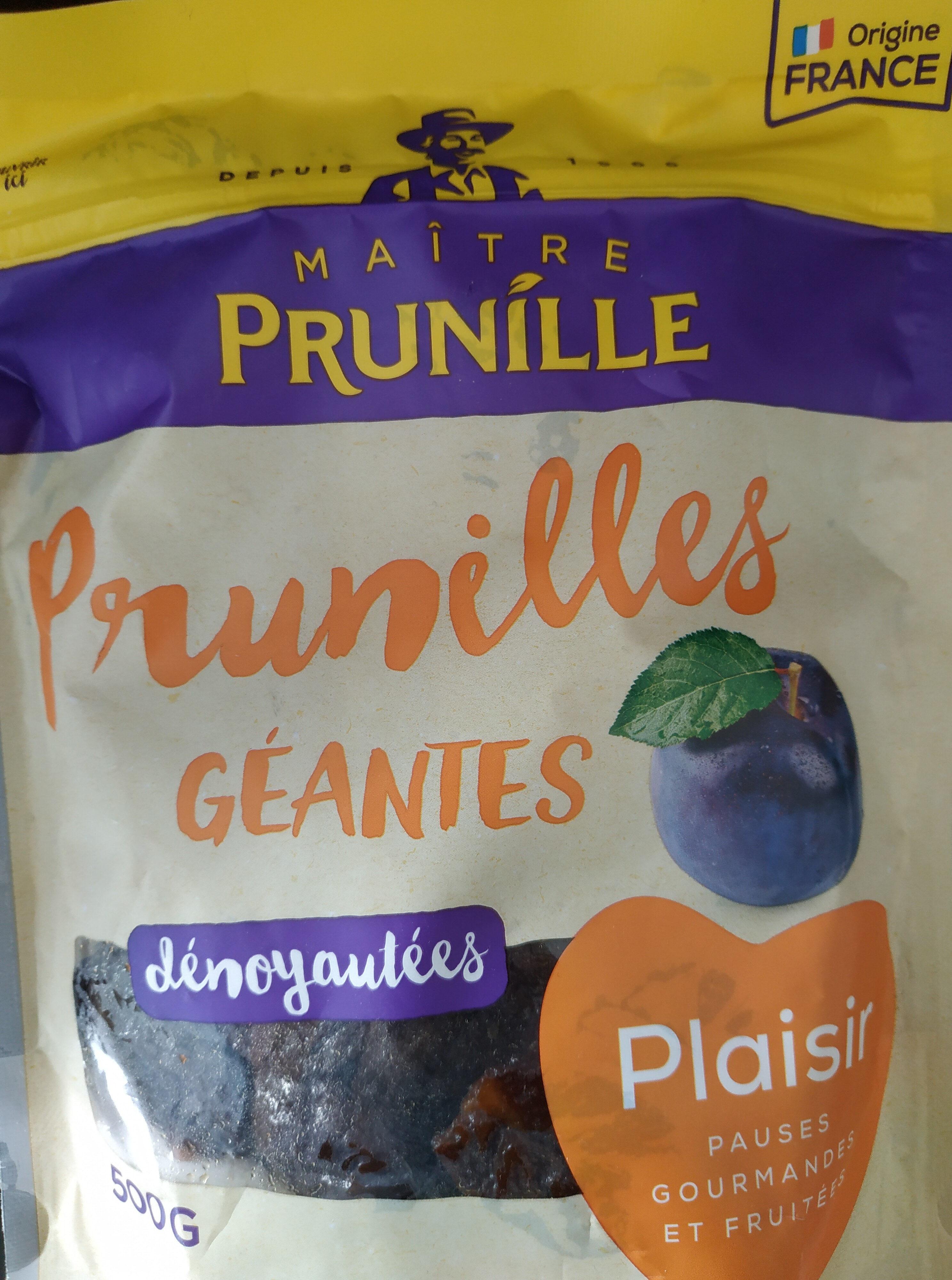 Prunilles géantes dénoyautées - Produit - fr