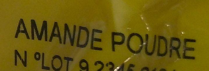 Amande Poudre - Informations nutritionnelles - fr