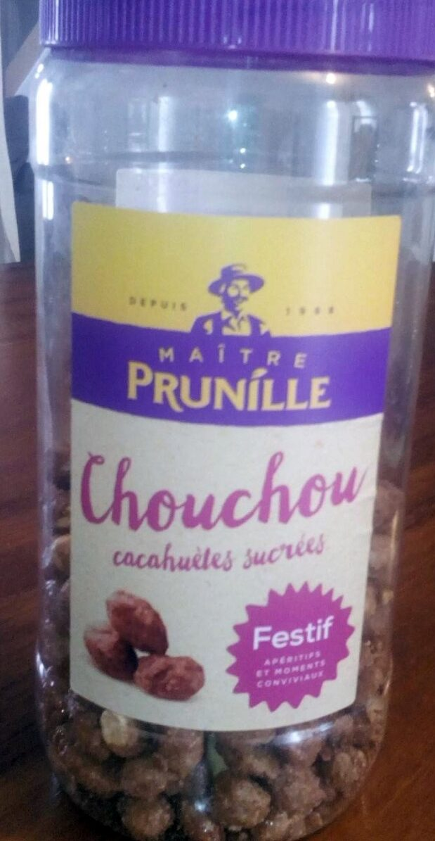 Chouchou cacahuètes sucrées - Produit - fr