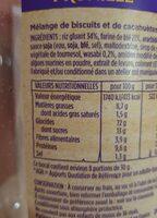 Mélange japonais - Nutrition facts - fr