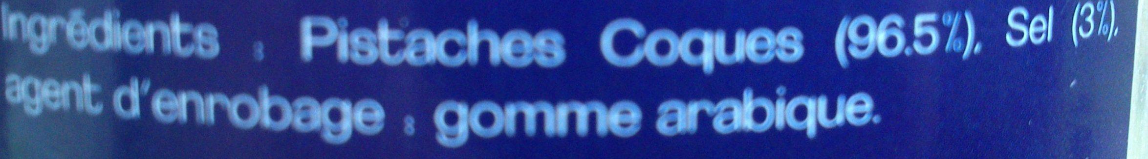 Pistaches Coques Grillées Salées - Ingrédients - fr