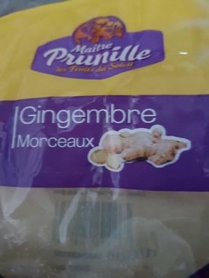 Gingembre  morceau - Produit - fr