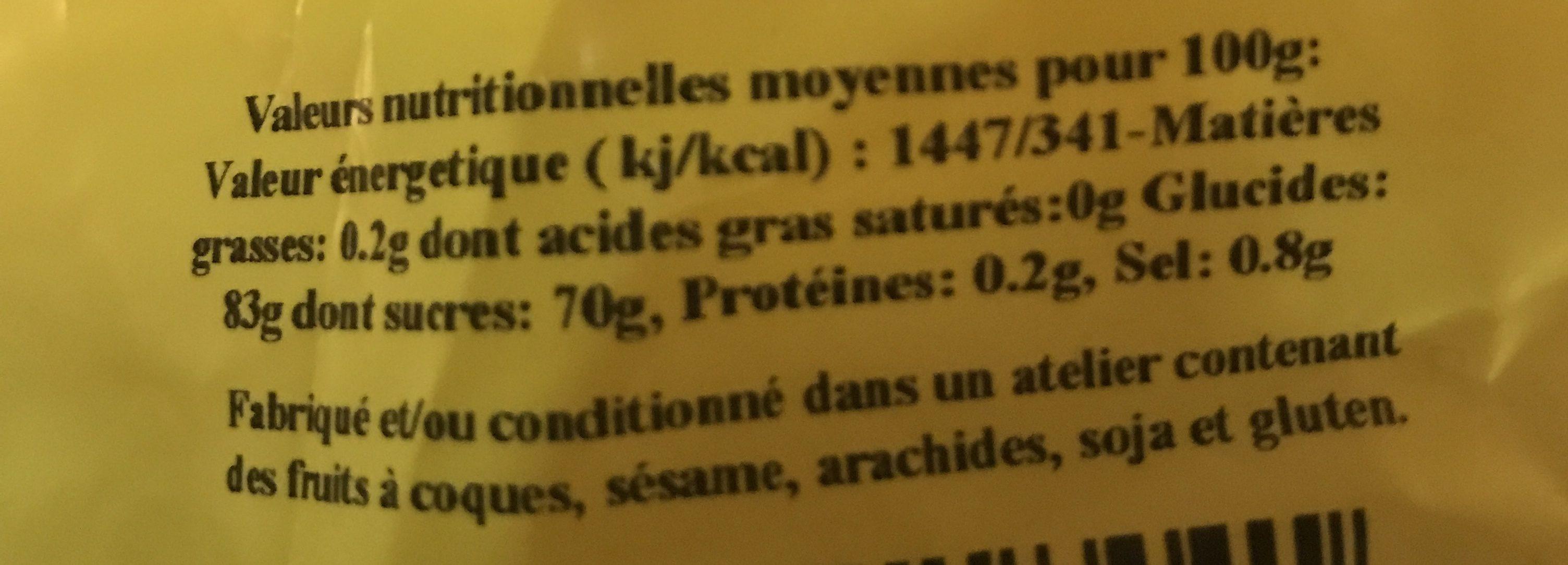 Ananas Morceaux - Ingrédients - fr