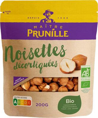 Noisettes décortiquées bio - Produit - fr