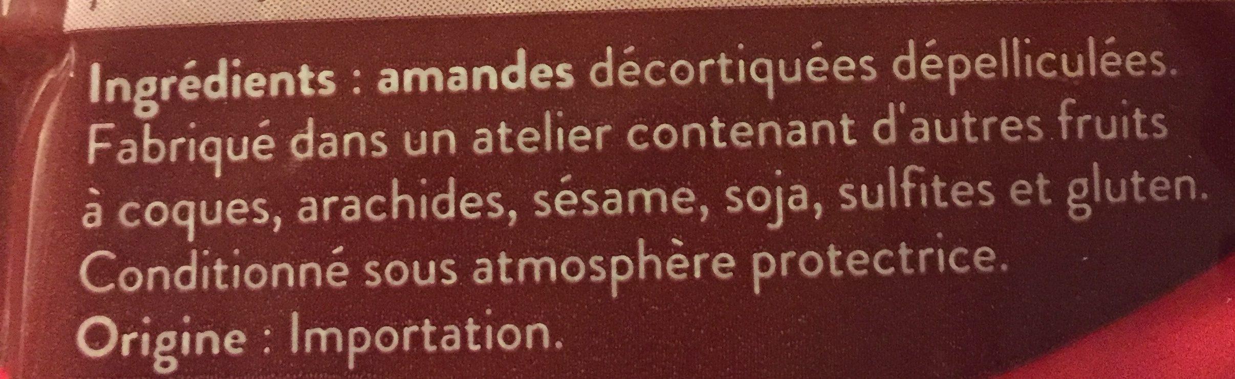 Amandes Effilées - Ingrédients - fr