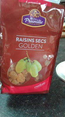 Raisins secs golden - Produit