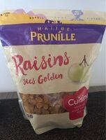 Raisins secs golden - Produit - fr