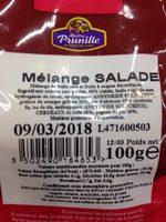 Mélange salade - Ingrédients - fr
