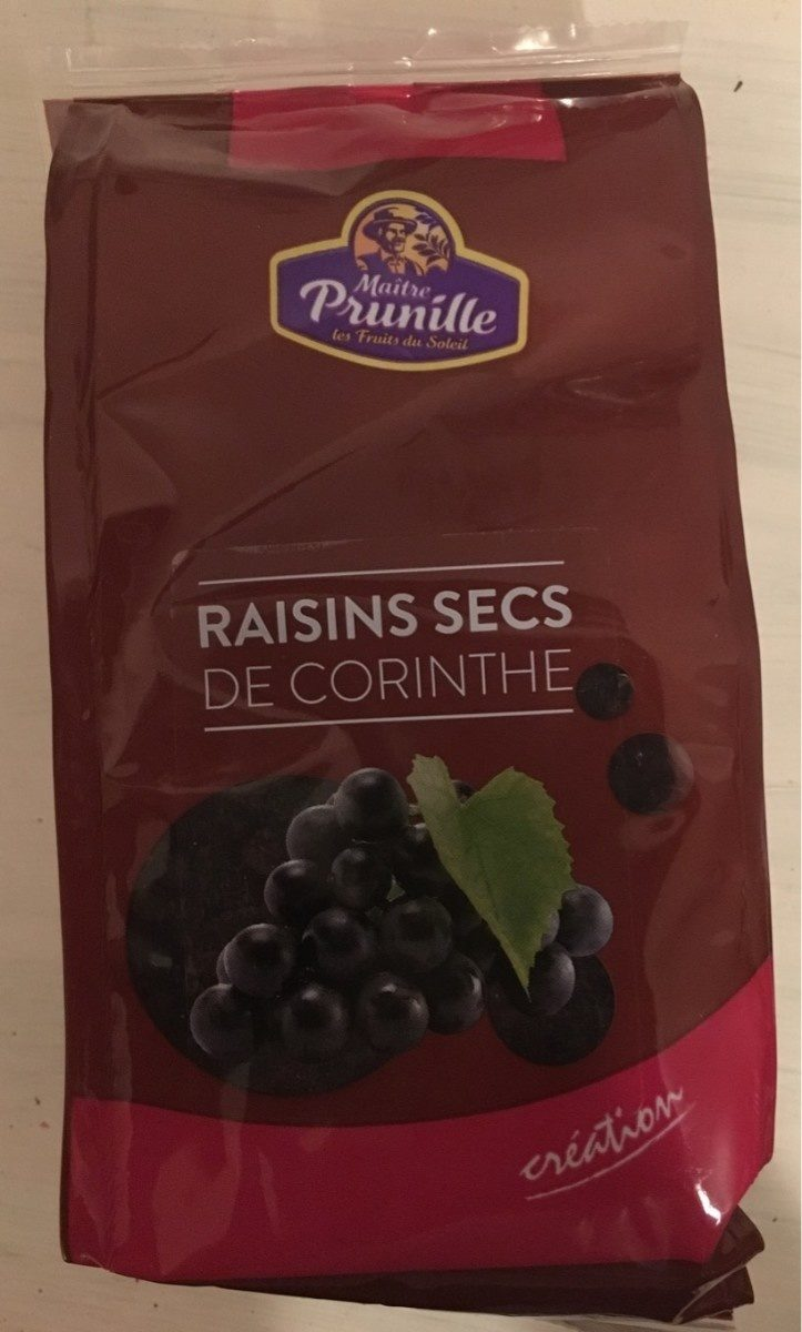 Raisins Secs de Corinthe - Produit - fr