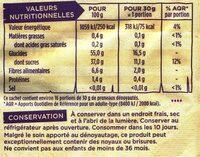Pruneaux d'Agen géants dénoyautés - Nutrition facts