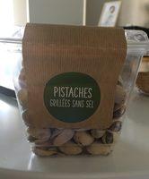 Pistaches grillées sans sel - Produit - fr