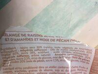 Melange mistral - Ingrédients - fr