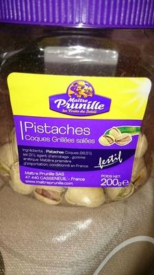 Pistaches coques grillées salées - Produit