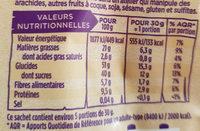 Melange bio - Informations nutritionnelles - fr