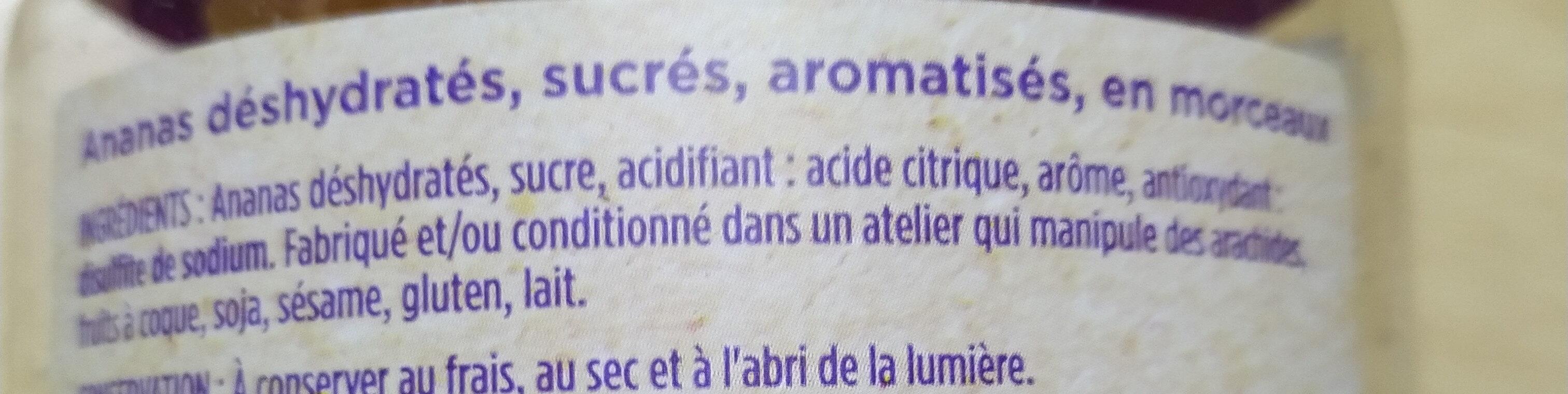 Ananas morceau - Ingrédients - fr