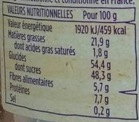 Mélange Mistral - Nutrition facts